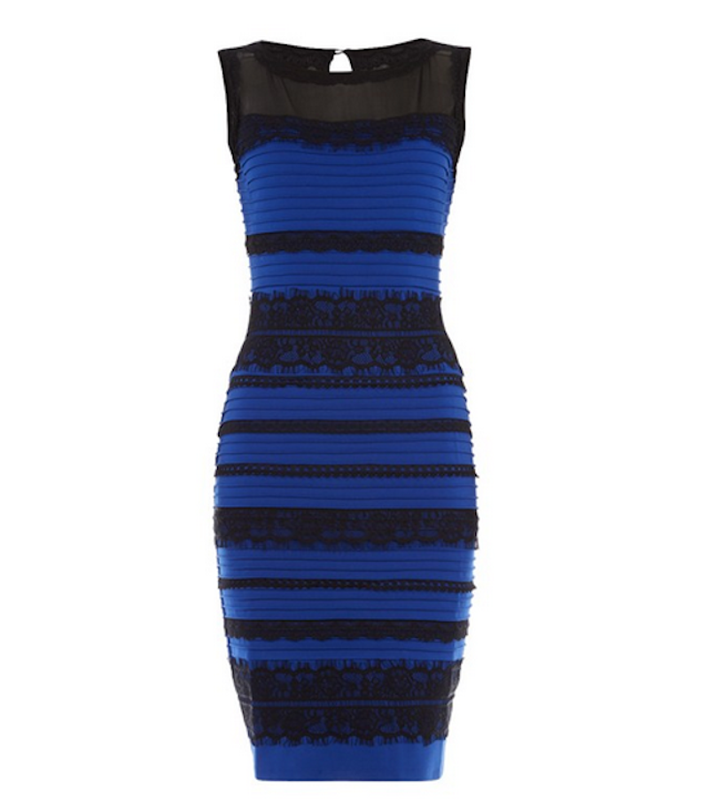2 color dress illusion white and gold