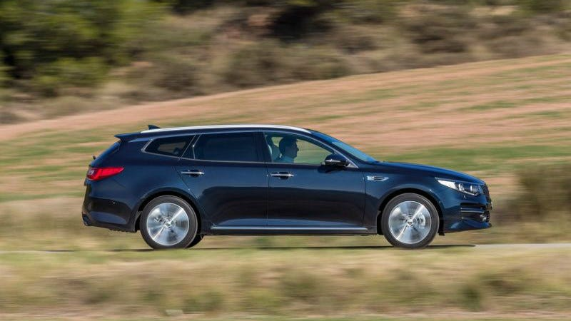 Illustration for article titled The Volvo V90 Is Great, But You Really Want This Kia Optima Wagon