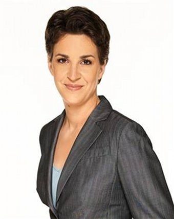 Illustration for article titled Rachel Maddow Fibs At New Yorker Festival!