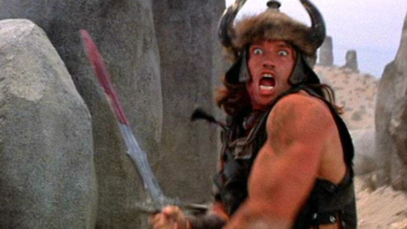 Illustration for article titled Arnold Schwarzenegger is going to play Conan The Barbarian again