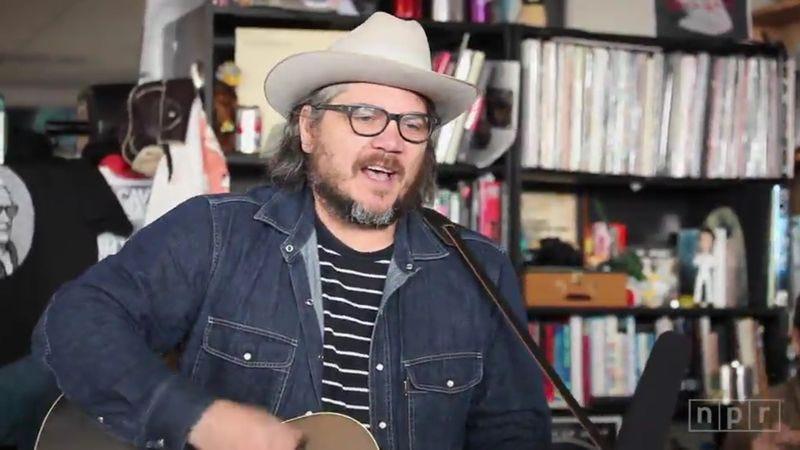 Wilco's Jeff Tweedy. (Image: NPR)