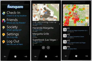 Illustration for article titled Foursquare Shows Why You Should Be Excited About Windows Phone 7 Apps