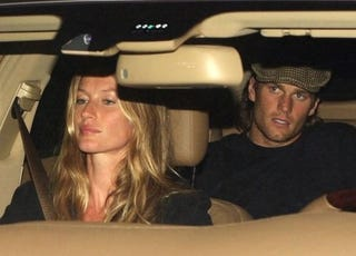 Illustration for article titled Gisele And Tom Share An Awkward Car Ride