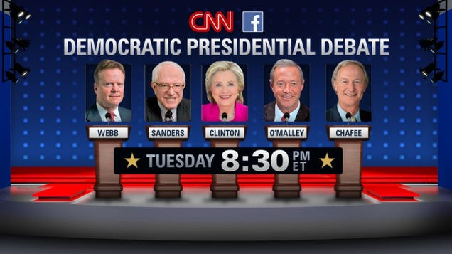 How to Watch Tonight's Democratic Debates