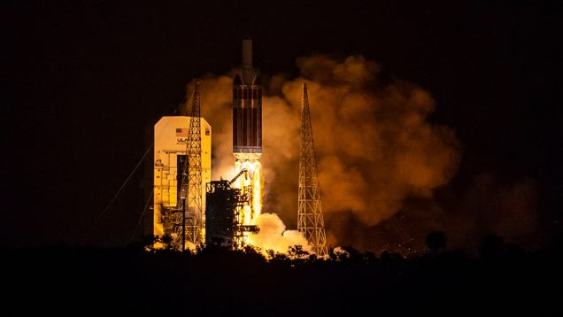 Watch ULA Try to Finally Launch an NRO Spy Satellite on a Delta IV Heavy Rocket Tonight