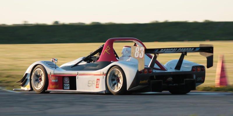 Illustration for article titled The Radical SR3 RS is superbike meets Le Mans car