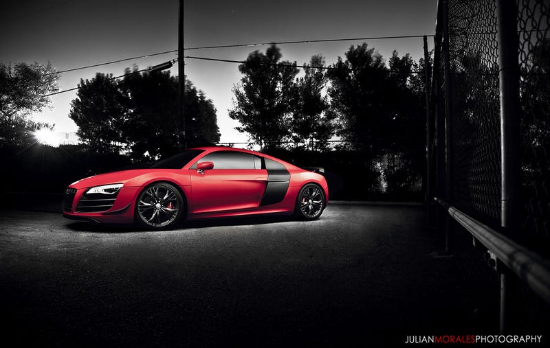 Illustration for article titled I'll just leave this R8 GT photo here... drool away :)