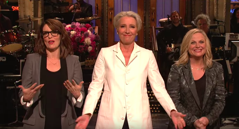 Tina Fey, Emma Thompson, Amy Poehler