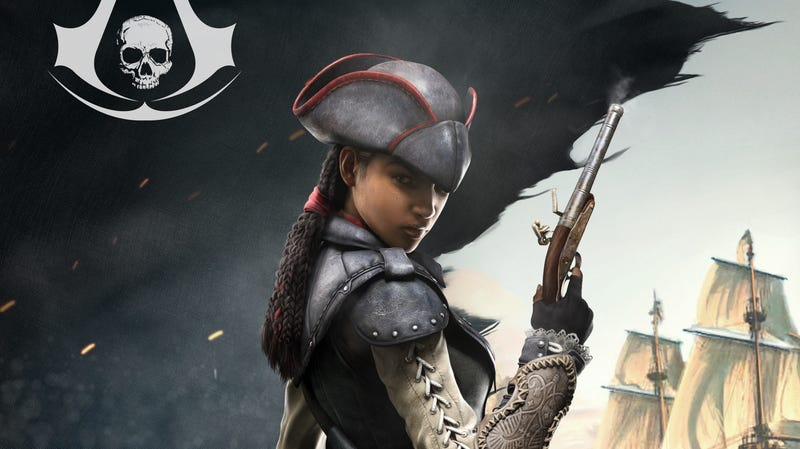 Illustration for article titled Assassin's Creed's Only Heroine is Playable in Assassin's Creed IV