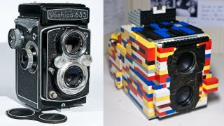 Illustration for article titled How One Man Made a Double-Lens Camera Out of LEGO and Old Binoculars