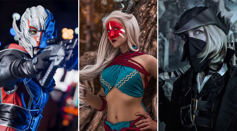 Illustration for article titled One Cosplayer Brings Bioware, Souls & Witcher Games To Life