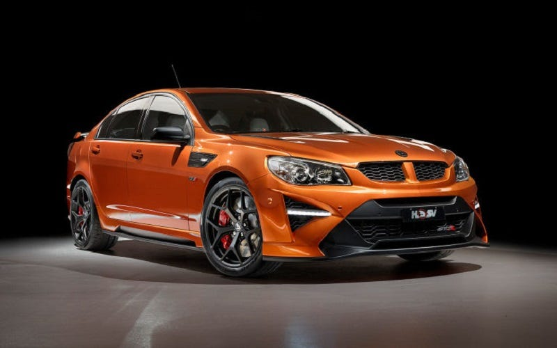 Illustration for article titled The Last Holden Commodore Ever Is In Fact A Big Nasty ZR1-Powered Hell Sedan