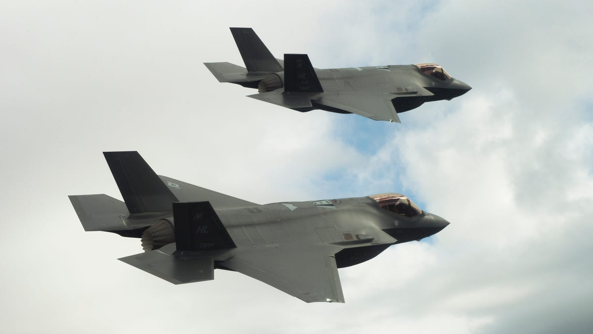 We're Stuck With the F-35 and That Might Not Be a Bad Thing