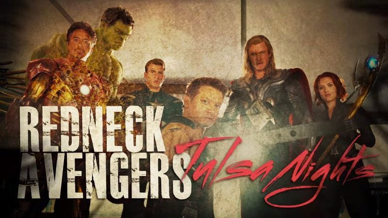 Illustration for article titled Bad Lip Reading turns The Avengers into a redneck melodrama