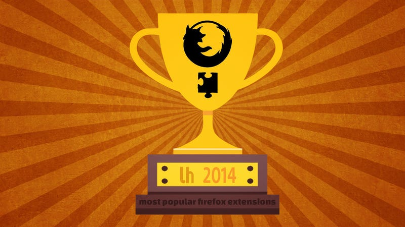 Illustration for article titled Most Popular Firefox Extensions and Posts of 2014