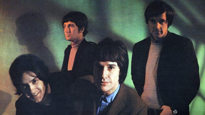 L to R: Dave Davies, Pete Quaife, Ray Davies, Mick Avory.