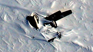 Illustration for article titled NASA Spots Wreckage Of Cold-War Era B-29 On Greenland Icesheet