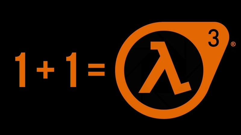 Illustration for article titled Numerology Proves Half Life 3 will be Announced at E3. Really.
