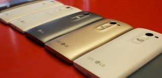 Asequibles y con pantallas curvas: así son los nuevos smartphones de LG