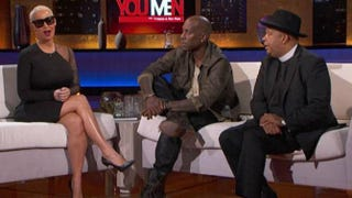 Amber Rose, Tyrese and Rev. Run on It's Not You, It's Menon OWNYouTube screenshot