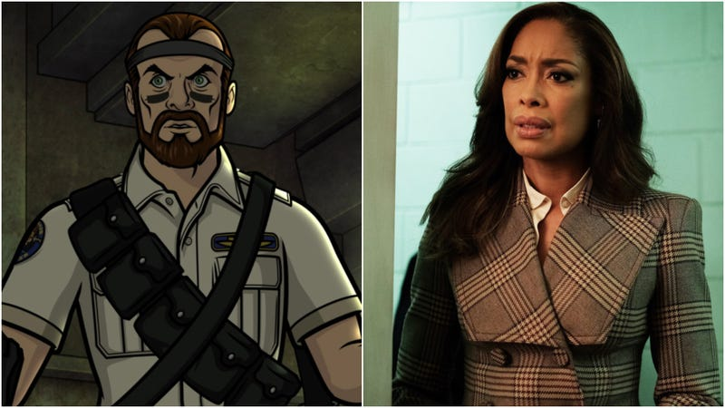 "Illustration for article titled Archer meets ""Space Pirates,"" while Gina Torres meets Chicago politics"