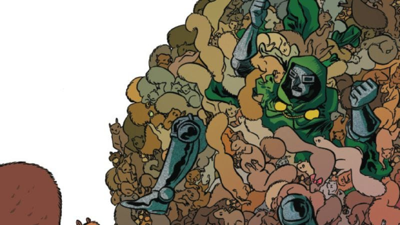 Illustration for article titled Exclusive Marvel preview: Doom takes over (again) in Unbeatable Squirrel Girl #4