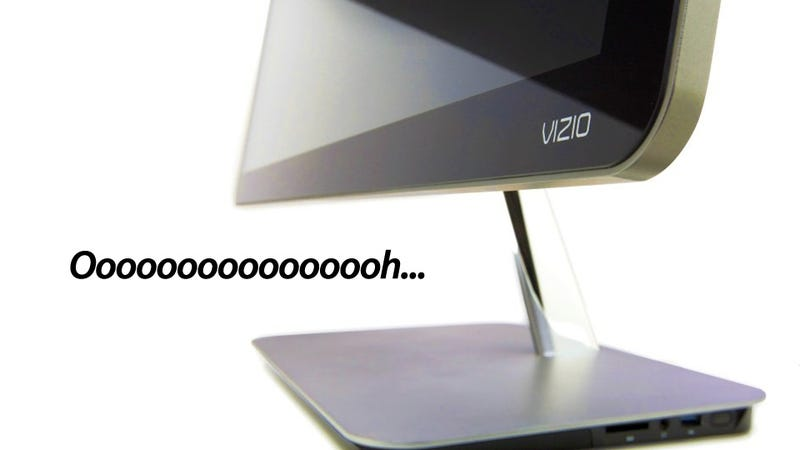 Illustration for article titled Confirmed: Vizio's Beautiful Computers Arrive This Month