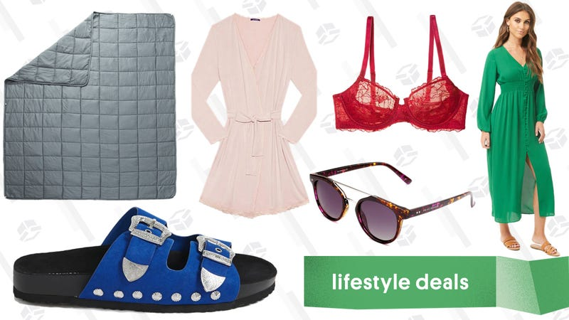 Illustration for article titled Wednesday's Best Lifestyle Deals: Privé Revaux, Weighted Blanket, Journelle, and More