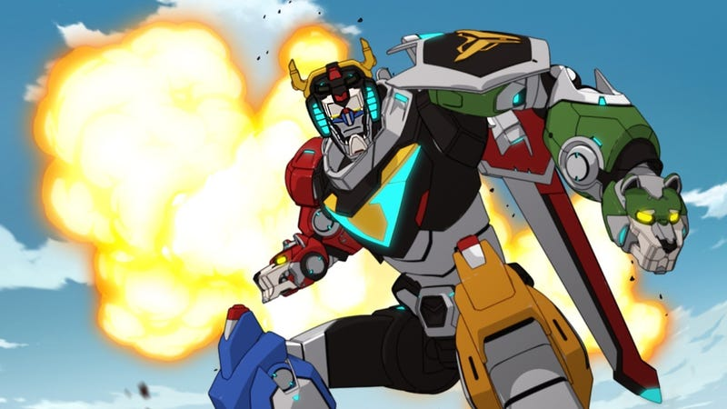 Illustration for article titled Voltron