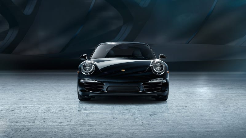 Illustration for article titled Porsche Unveils Black Edition Models