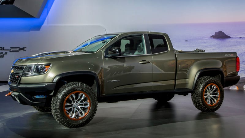 Gm May Make The Off Road 2016 Chevy Colorado Zr2 Update