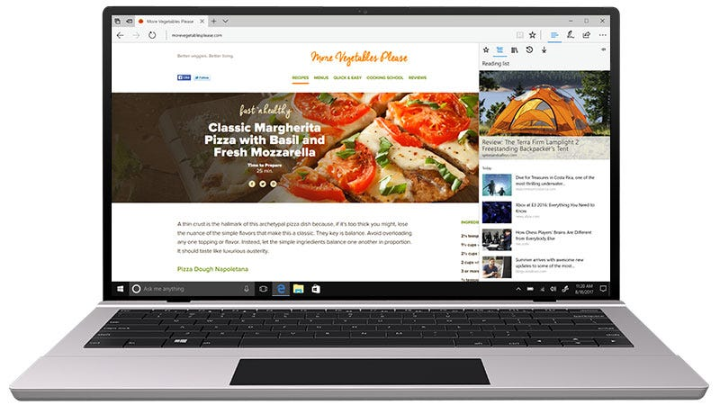 Illustration for article titled Microsoft's Edge Browser Could Soon Be Harder to Ignore in Windows 10