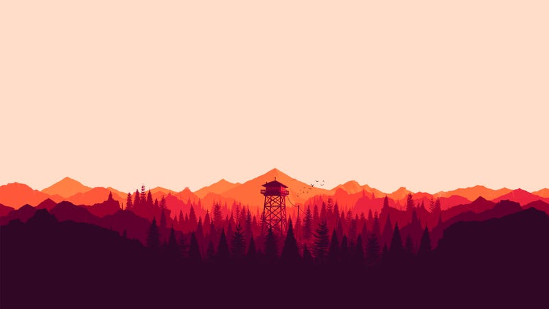 Illustration for article titled Just finished playing Firewatch.
