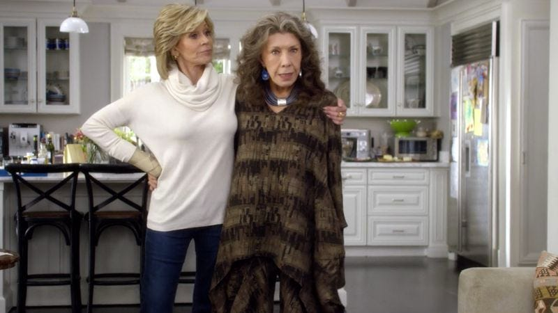Illustration for article titled Grace And Frankie are best business partners for life