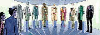 Illustration for article titled Discover Doctor Who's Old Wardrobe, Old Selves