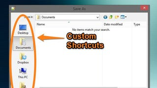 Illustration for article titled How to Add Your Own Shortcuts to Windows' Save Dialog