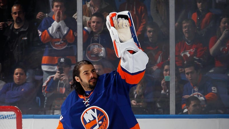Illustration for article titled Rick DiPietro Says He Battled Depression. Does This Mean We Should Feel Like Assholes For All The Jokes?