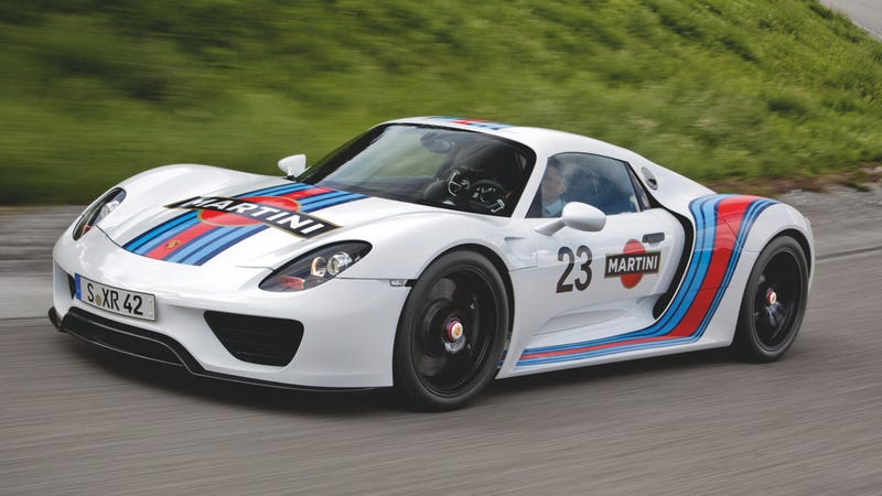 the porsche 918 spyder is a big part of the hypercar barrage that is coming our way over the next 12 months and porsche has decided that buying the 918 is