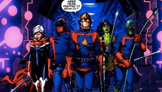 Illustration for article titled Marvel's next big movie Guardians of the Galaxy will set up for Avengers 2