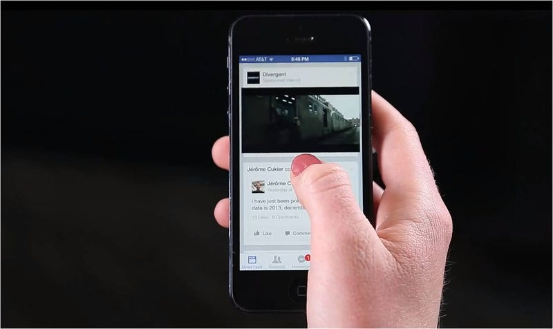 Illustration for article titled Los vídeo-anuncios de Facebook ya están aquí: así funcionan