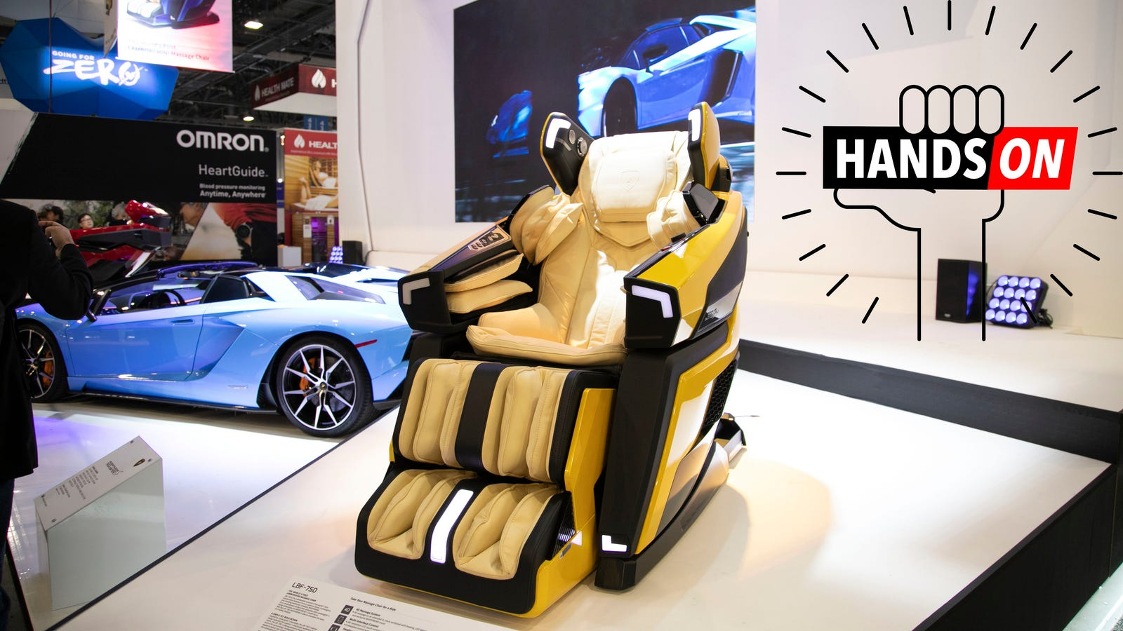 Sitting In This Lamborghini Massage Chair Was Like Having Bad Sex With Optimus Prime