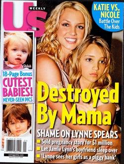 Illustration for article titled This Week In Tabloids: Jamie Lynn Still Pregnant; Tara Reid Too Skinny; Shiloh Utterly Unloved