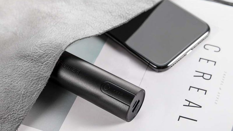 RAVPower 5,000mAh Battery Pack | $11 | Amazon | Clip the $2 coupon and use code KINJA652