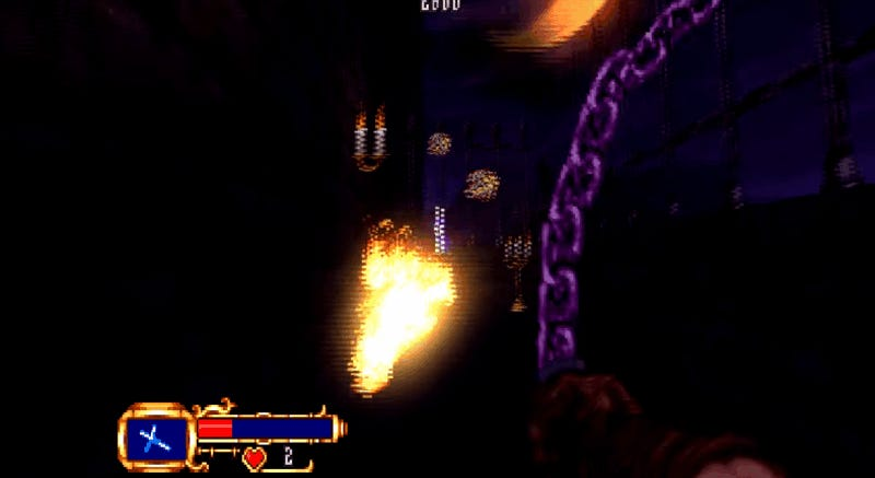 First-Person Castlevania Game Looks Amazing