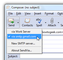 Illustration for article titled SendVia Changes SMTP Servers On the Fly