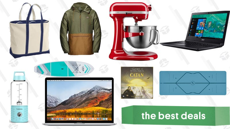 Illustration for article titled Monday's Best Deals: KitchenAid, Game of Thrones Catan, Refurb MacBooks, and More