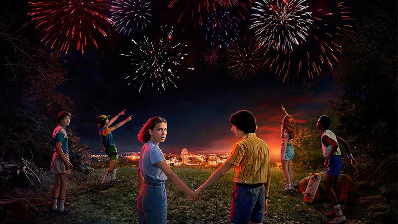 Happy Independence day, Stranger Kids!