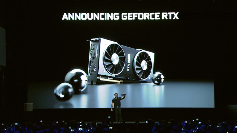 Illustration for article titled Nvidia's Beastly New 20-Series RTX GPUs Claims up to 6X Performance Starting at $500