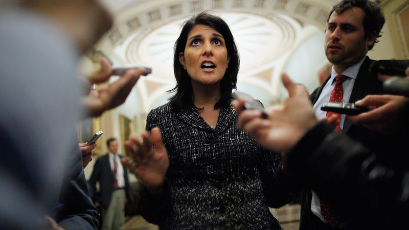 Illustration for article titled Nikki Haley, Spokesperson of All Ladies Everywhere, Says Women Don't Care About Birth Control
