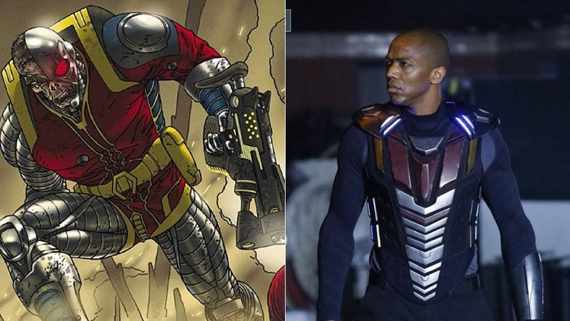 Illustration for article titled What The Hell Is Deathlok Wearing On Agents Of SHIELD?
